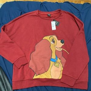 Disney Lady and the Tramp Sweatshirt